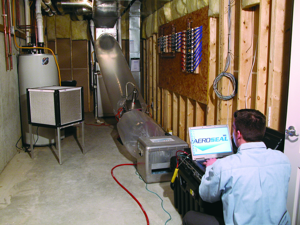 Leak Sealing Services : Sealing ducts in kansas city homes buildings home