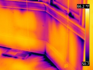 Infrared Air Leaks